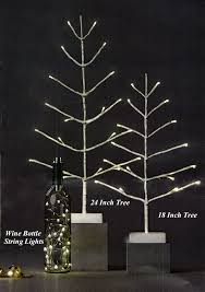 18 inch birch lit tree battery operated timer buy now