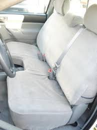 Toyota Pickup Bench Seat Amazon Com Exact Seat Covers T928 V7 2009 2014 Toyota Tacoma
