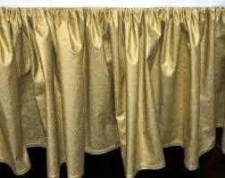 gold crib skirt etsy