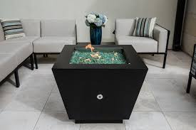 Fire Pit Price - powder coated pyramid gas fire pit with stainless steel fire bowl