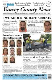 sept 19 edition of yancey county news by yancey county news issuu