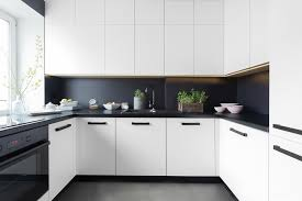 cuisine mur et gris cuisine noir et gris deco 2 blanc mur fonc233 chaios 800 533