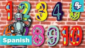 numbers song in spanish cancion de los numeros de basho u0026 friends