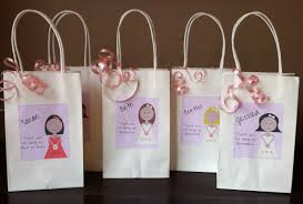 bridal party gift bags personalized bridesmaid gifts 2017 wedding ideas magazine