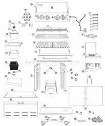 Brinkmann 6 Burner Bbq by Brinkmann Pro Series 4675 Bbq Parts
