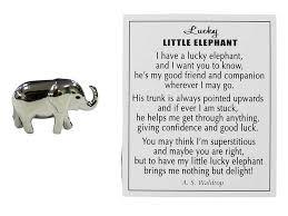 lucky elephant token charm er28470 3 49