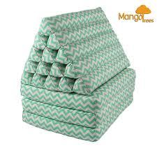 Mattress Cushion Jumbo Thai Triangle Pillow Fold Out Mattress Cushion Day Bed Three