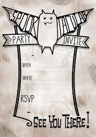 free printable halloween party invitations templates halloween