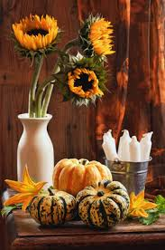 Fall Homemade Decorations - simple decorations for fall party planning