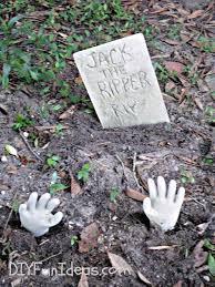 tombstone decorations craft make concrete tombstones in 10 minutes hometalk
