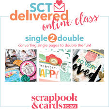 we do your online class single 2 online class details scrapbook cards today