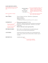 Resume Text Example Proper Resumes Best Resume Formatting How To Make A Resume Format