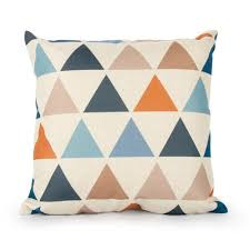 geometric cushion covers throws