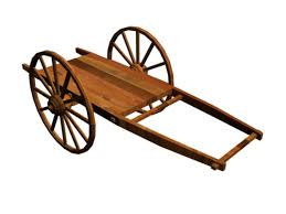 wooden cart clipart clipground