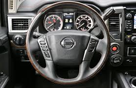nissan trucks interior 2017 nissan titan xd platinum reserve 4x4 test drive review