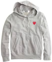 j crew play comme des garons hoodie where to buy u0026 how to wear