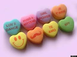 heart candies new candy hearts are a sign of our crumbling civilization huffpost