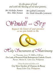 sle of wedding invitation wedding invitation letters templates wedding invitation