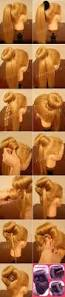 Easy Hairstyle Tutorials For Long Hair by Best 20 Bow Hairstyle Tutorial Ideas On Pinterest Hair Bow Bun