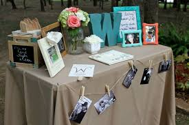 wedding guest book table decorations google search wedding