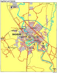 baghdad on a map baghdad maps