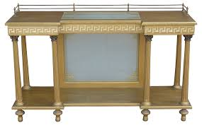 neoclassical style antique neoclassical style server w greek key design modernism