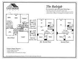 Open Loft Floor Plans Raleigh Eastwood Homes