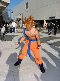 Saiyan Halloween Costume Cosplay Dude Super Saiyan Sickcostumes