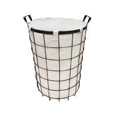 laundry hamper canvas furniture alluring wire hamper for home furniture ideas