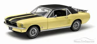 Yellow Mustang With Black Stripes 1967 Ford Mustang Coupe