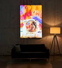 led backlit frame poster photo big wall news lednews