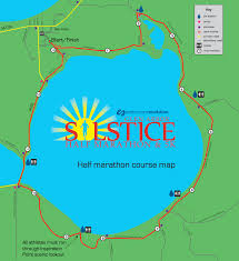 White Lake Michigan Map by Glen Arbor Solstice Half Marathon U0026 5k Endurance Evolution