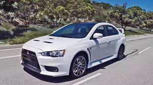 mitsubishi evo 2016 2015 mitsubishi lancer evolution final edition footage youtube