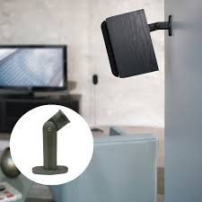 How To Mount Bookshelf Speakers Omnimount Ab2 Audio Basic Wall Or Ceiling Bookshelf Speaker Mount