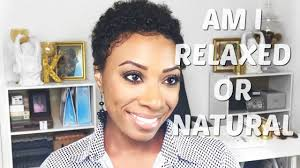 tapered fro on relaxed hair short hair tutorial youtube