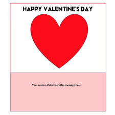 custom valentines day cards day card
