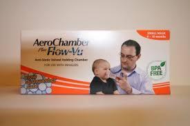 chambre d inhalation aerochamber chambre d inhalation aerochamber avec masque bébé 0 à 18 mois