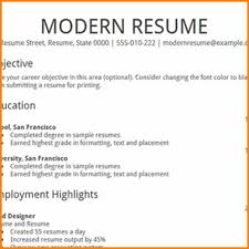 Modern Resume Templates Free Google Docs Student Resume Template Google Docs Resume Template