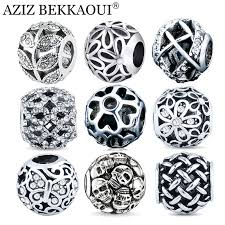 black silver pandora bracelet images Crystal rondelle beads picture more detailed picture about jpg