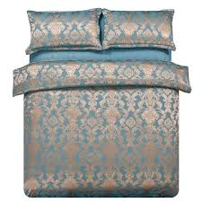 Jacquard Bedding Sets Luxury Jacquard Bedding Set And Noble Bronze Bedding