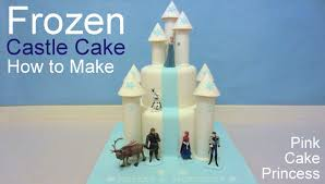 Disney Frozen Castle Cake How To By Pink Cake Princess Youtube