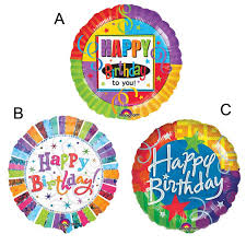 birthday helium balloons 1pcs lot 18 inch anagram colorful happy birthday helium balloons
