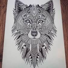 imagenes sorprendentes de lobos sorprendentes ilustraciones en blanco y negro de animales contenido