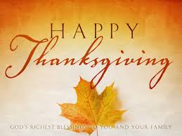 wishing you and your family a happy thanksgiving of