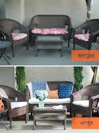 Cushion Covers For Patio Furniture Replacement Outdoor Furniture Cushion Covers Wfud