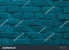old worn blue painted brick wall stock photo 679781371 shutterstock