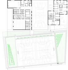 purpose of floor plan gallery of zac del lilas multi purpose building scape 24