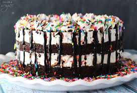 cake batter fudge brownie ice cream cake love sugar