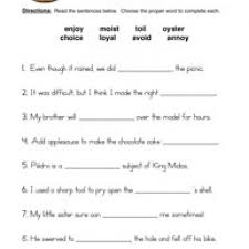 oi oy digraphs worksheet 1