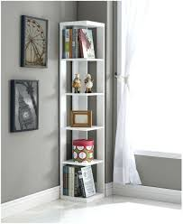 Corner Bookcase Ikea Bookcase A White Complete Bookcase With Glass Doors Tall